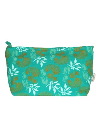 TROUSSE AIRPORT XL<br>SPIREE TURQUOISE<br>L26 x H11 cm
