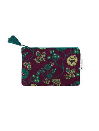 TROUSSE AVION S<br>VELOURS PETULA FIG<br>L15 x H10 cm