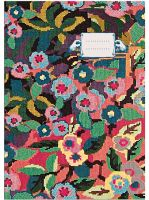 NOTEBOOK M<br>FLOWER TAPESTRY<br>(by 4)