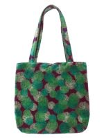 TATIE TOTE BAG + MAGNET<br>VELOURS REEF FIG<br>L36 x H34 cm