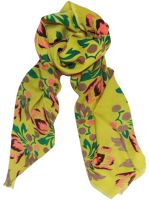 WOOLEN SCARF<br>TULIP LIME