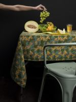 NAPPE L<br>IPOMEE TURQUOISE 2<br>250 x 140 cm