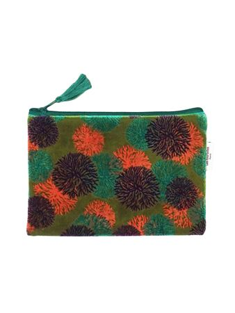 TROUSSE AVION L<br>VELOURS REEF AVOCA<br>L21 x H14 cm