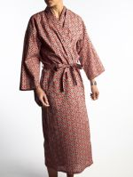 LONG DRESSING GOWN<br>FES CORAL<br>(1 size fits all)