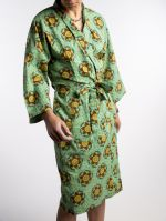 DRESSING GOWN<br>GUSTAVE TURQUOISE<br>(1 size fits all)
