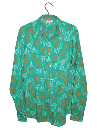 CHEMISE MIXTE<br>SPIREE TURQUOISE<br>2 = 42 / 44